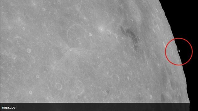 El Observatorio de Miami capta un extraño OVNI en la Luna ·